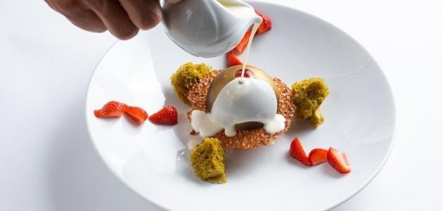 ICED RED BERRY SOUFFLÉ dessert